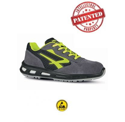 Scarpa Antinfortunistica YELLOW - RED LION - S1P SRC ESD